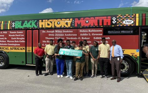 The students of the Architecture/ Pre-Engineering academy took a trip to the Garrett Morgan Shadow museum. During the trip students were informed about the jobs in the palm train industry.