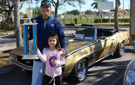 GRAND PRIZE: After votes were cast it was time for the awards to be passed out. The Principal's Award aka the Best in Show award goes to the 1969 Olympic Gold Chevrolet Camaro RS/SS Convertible. Congratulations to Clay Scott on the first place prize, and all the other winners and participants.