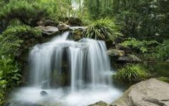 HAIKU'S CREATION: This waterfall represents a creation and a blessing from our all mighty father God.