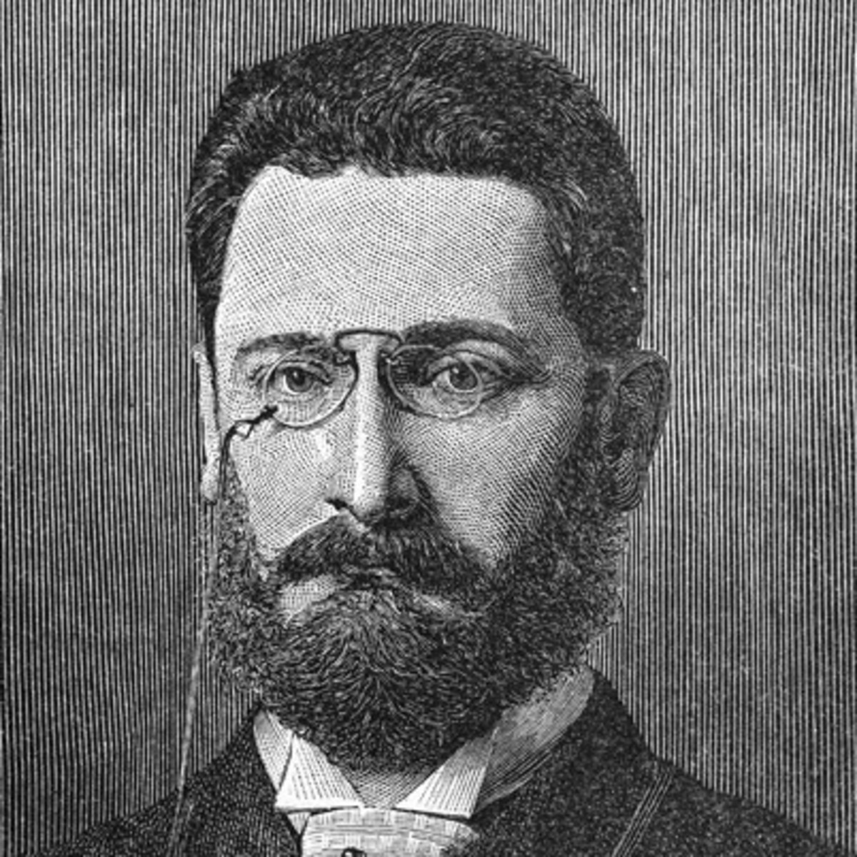 DEVELOPED: Joseph Pulitzer was the father of journalism since 1887.