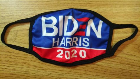 SWORN IN AS THE 46 PRESIDENT: We see that Mr. Hanif is ready for the inauguration today by having his Biden Harris 2020 face mask !