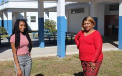 SWEET 16 ladies? Sophia Vincent (left) and Executive Administrative Assistant Ms. Barnes both celebrated today.