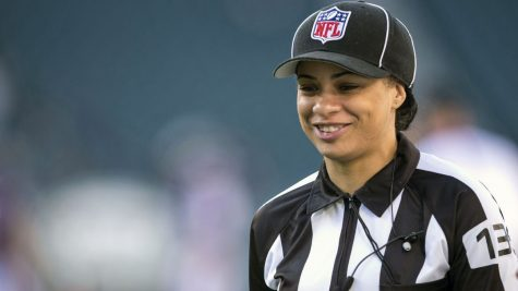 She has been hired as a game official for 2021 season, also the first black woman to join the league