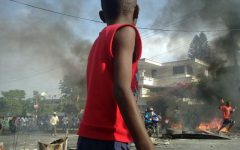 HAITI: There has been protests, violence, and kidnapping happening.