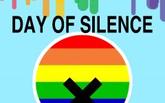 The illustration above represents the silence the LGBTQ are faced with.