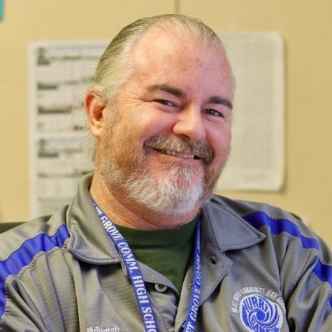 TREASURE: Mr. McDermott manages the senior class so they can finish on a good note.