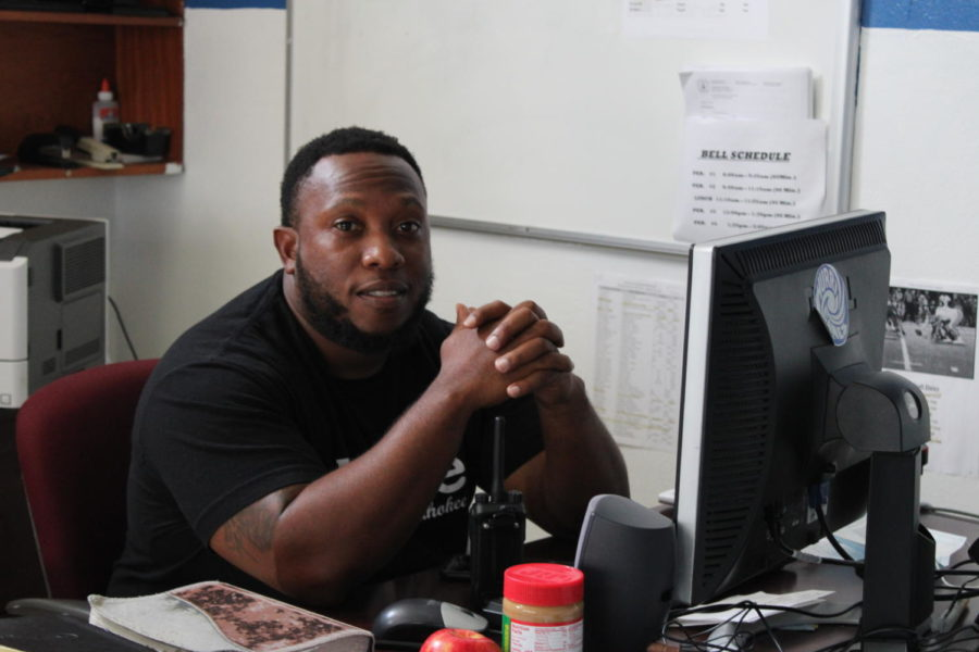 SPORTS NEWS: Coach Banks is the new athletic director at Inlet Grove.