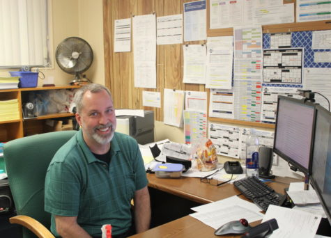 TESTING: Mr. Valliere is our testing coordinator.