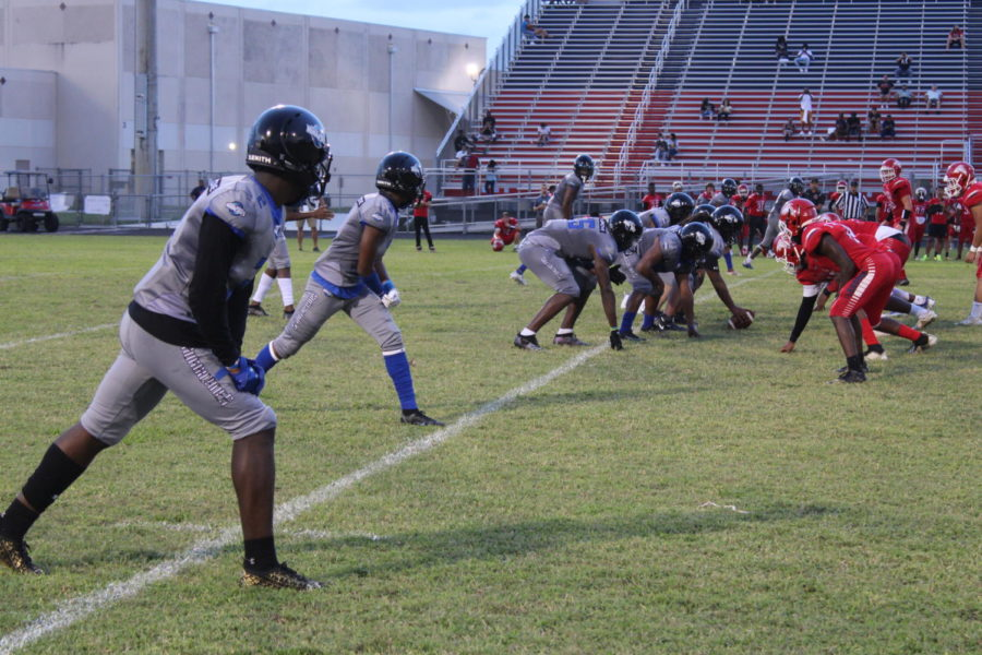 MAYBE NEXT TIME: Canes face off against Forest Hill high school coming short some points, the score was 42- 12.