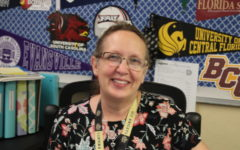 WONT BE THE FIRST TIME: Ms. Bonikowski said she is excited to have won Inlet Grove Employee of the Month honors again.