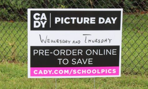 POTRAITS: Starting Wednesday underclassmen and staff will have their photos taken for the yearbook. Order today to save $10 on packages.