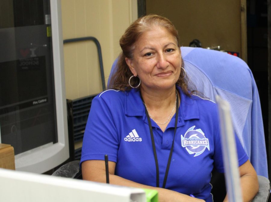 FACE OF THE MAIN OFFICE: Helping the main office run smoothly!