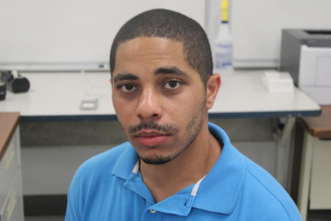 FRESHMAN: Mr. Gibbs is the new technology coordinator at Inlet Grove.