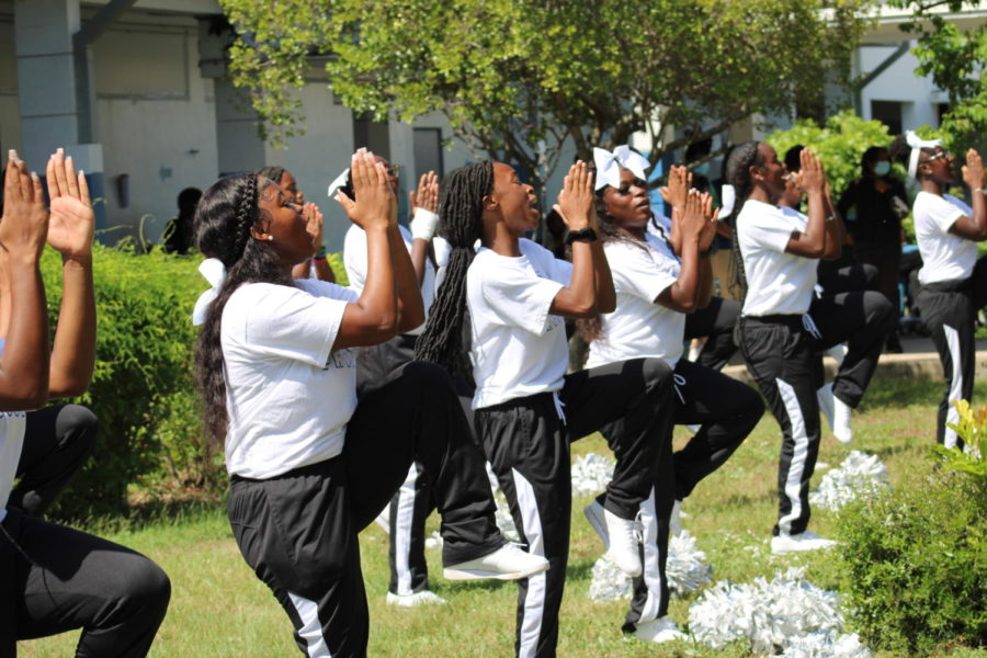 Lady Canes- preform during lunch for the entire school.